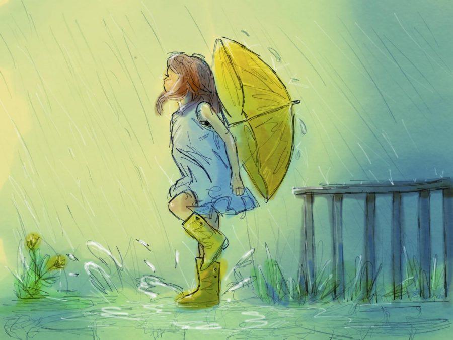 Catching+Rain