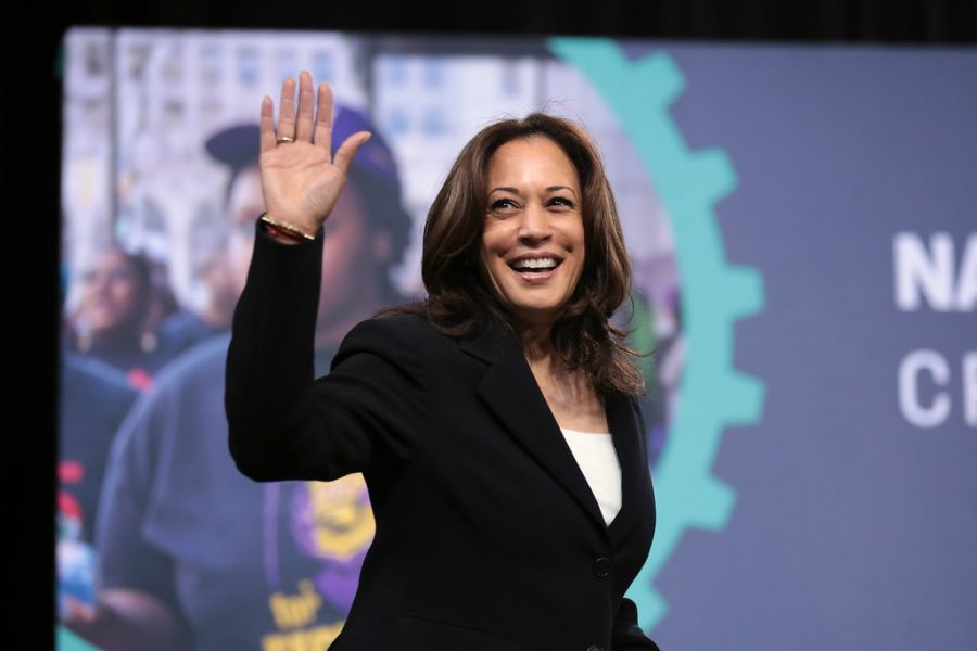 Kamala+Harris+speaking+to+attendees+at+the+2019+National+Forum+on+Wages+and+Working+People.