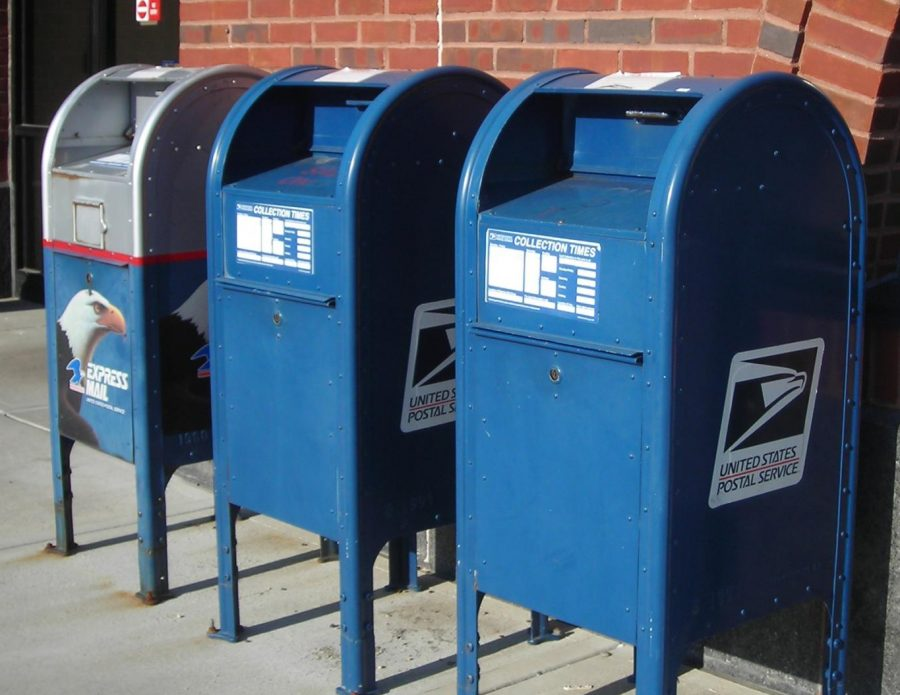 Mailboxes like these were removed from neighborhoods in recent, large-scale changes to the USPS.