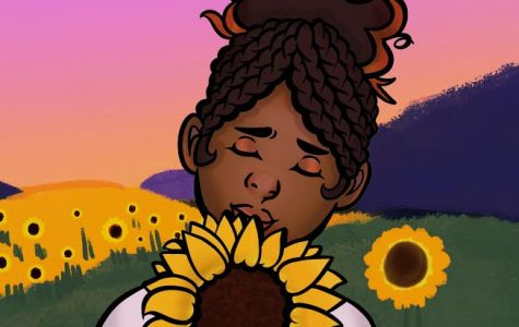 Sunsets with Sunflowers