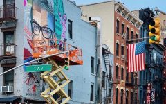 Murals were made across the country to commemorate Ruth Bader Ginsburg, the Supreme Court's feminist icon.