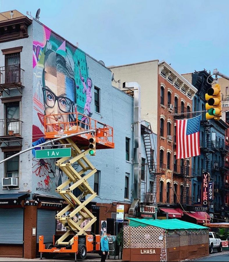 Murals+were+made+across+the+country+to+commemorate+Ruth+Bader+Ginsburg%2C+the+Supreme+Court%27s+feminist+icon.