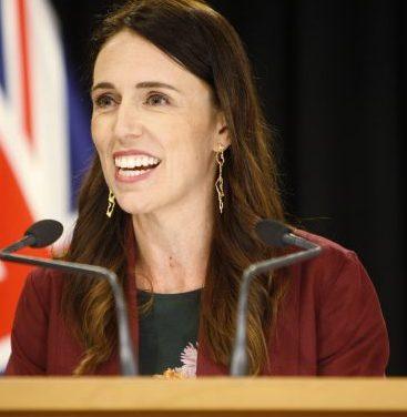 Jacinda Ardern wins re-election in a landslide.